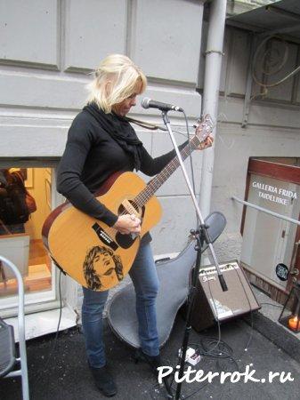 Музыкальный фестиваль в Хельсинки.