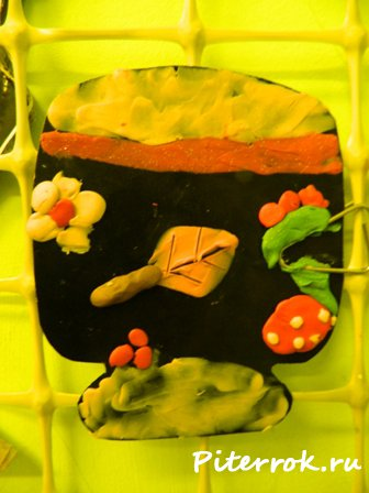 """Рисуем """"пластилином"""",красками,карандашами....(народные промыслы)"""